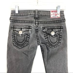 [True Religion] Disco Joey Grey Jeans Flap Pocket